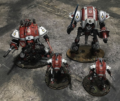 House Taranis Knights on the March
