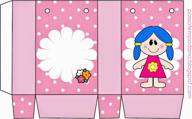Muñecas: Cajas para Imprimir Gratis.