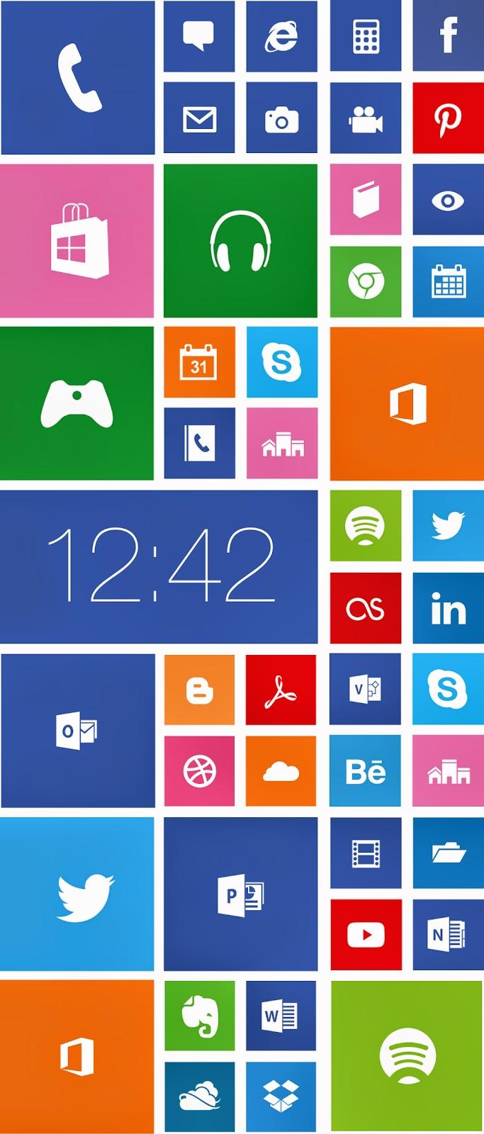 Windows 8 Icons Vector Wp8 windows phone 8 icons uiWindows 8 Vector Icon