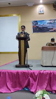 Pj Sekda Kabupaten Muara Jambi Membuka Secara Resmi Pelatihan Pemantapan Pengendalian  Harhutla.