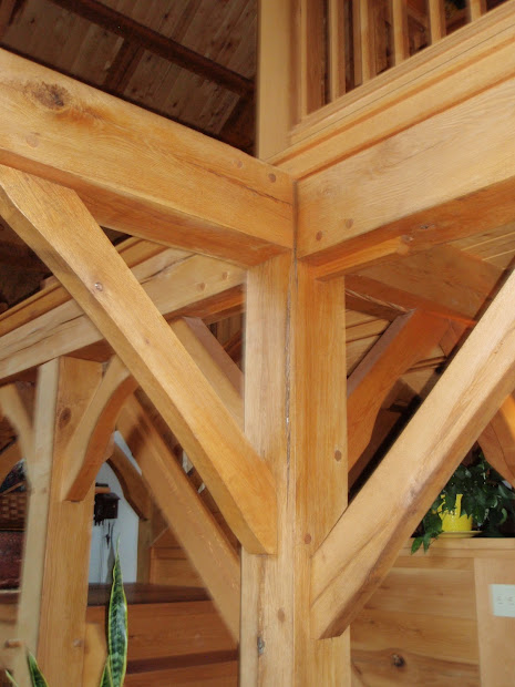 Michael' Timber Framing Joinery