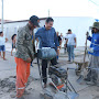 Prefeito de Jaguarari acompanha inicio de duas obras importantes no distrito de Pilar