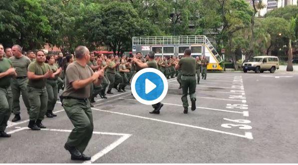 Maduro ordenará ejercicios militares de entrenamiento
