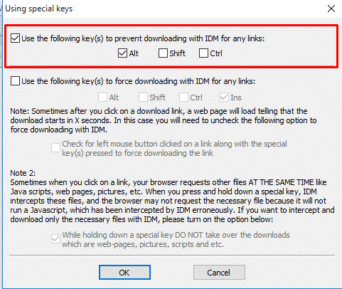 How to make internet download manager downloads from all websites
