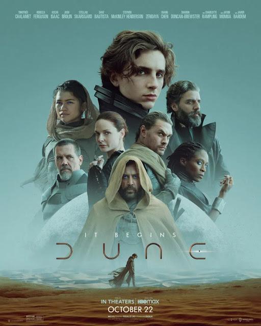 Filmin oyuncu kadrosunda ise; Timothée Chalamet, Jason Momoa, Zendaya, Dave Bautista, Oscar Isaac, Josh Brolin, Javier Bardem ve Stellan Skarsgård gibi isimler bulunuyor.