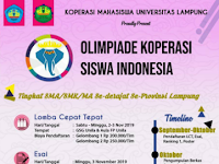Olimpiade Koperasi Siswa Indonesia (OKSI) 2019 di Unila