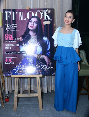 Gorgeous Gauahar Khan on cover of Fit Look Magazine