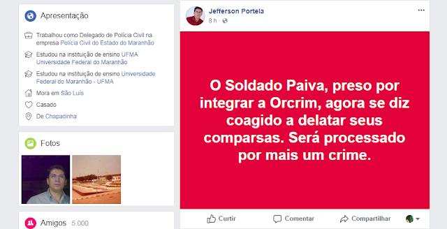 Secretário de Segurança do Maranhão diz a 'canalhas de todos os naipes' que não vai se 'intimidar'