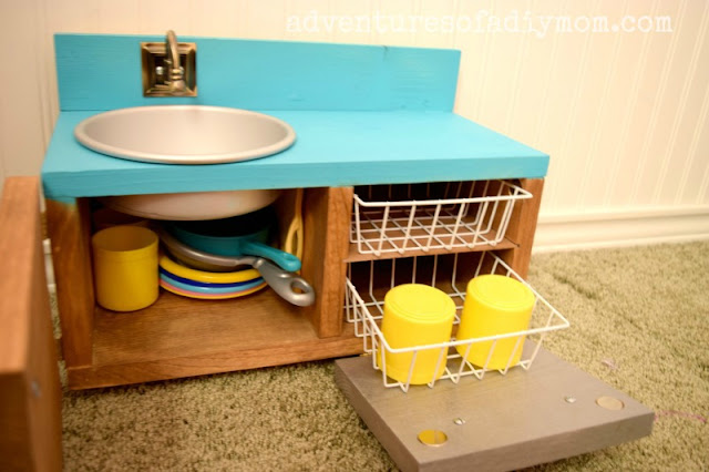 Doll Sink DIY