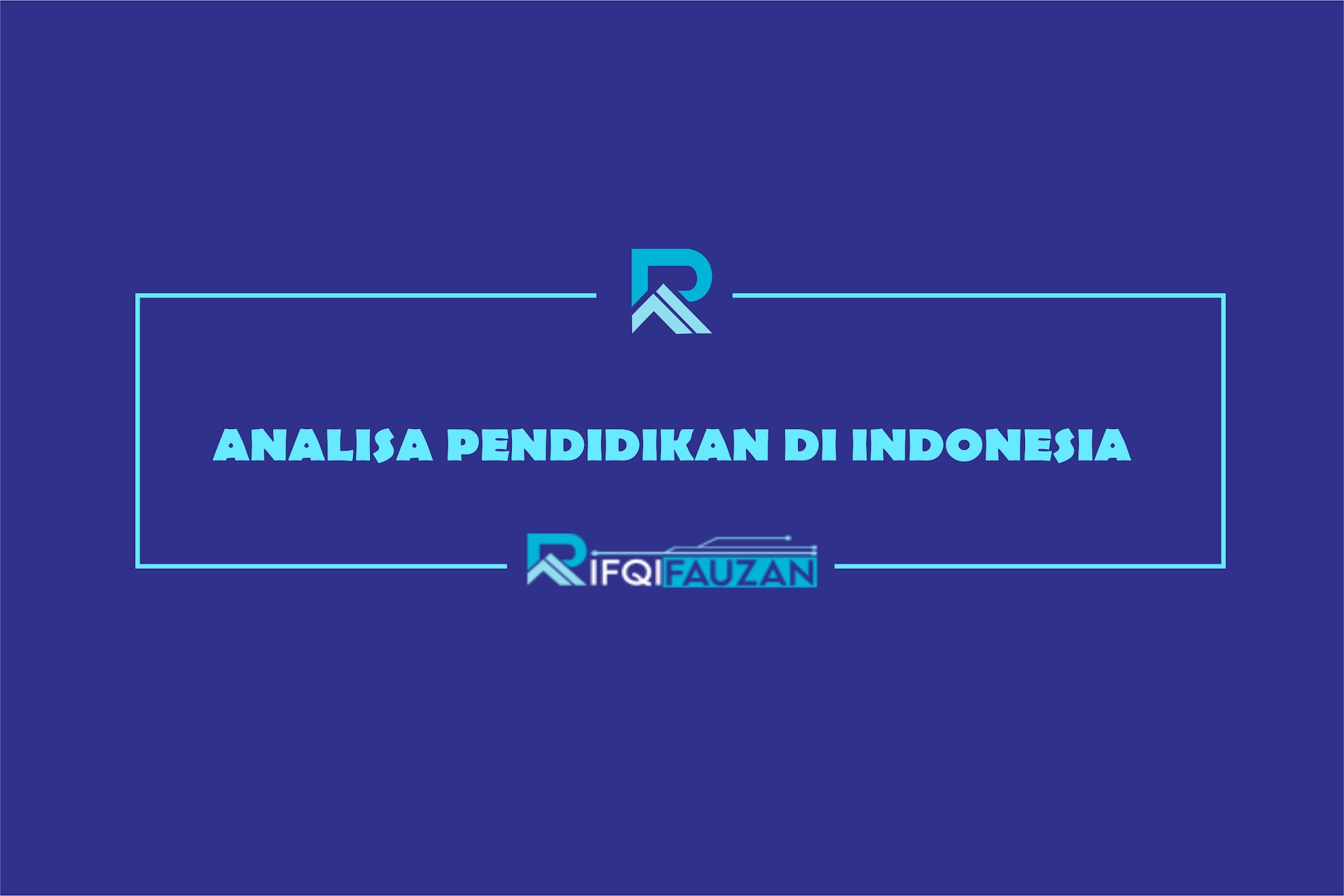 LOWY INSTITUTE DAN UNESCO MENGANALISA PENDIDIKAN DI INDONESIA