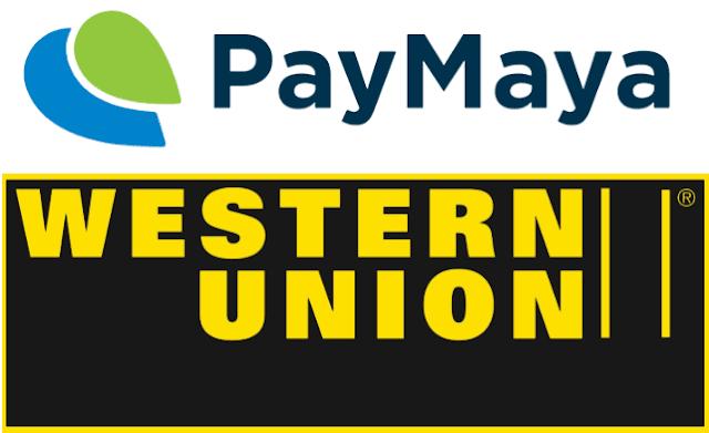receive western union via paymaya