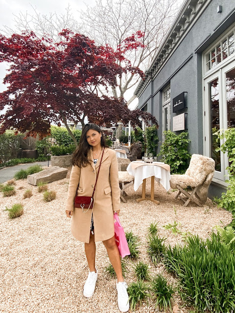 Kelly Fountain and Jean Mosler in Sag Harbor in the Hamptons