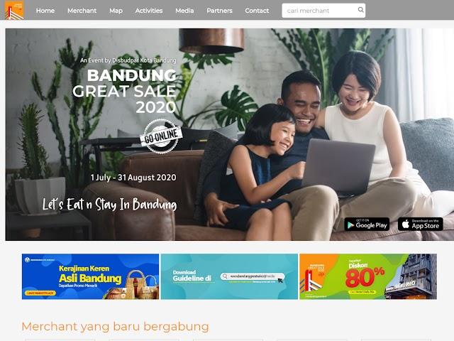 Jangan Lewatkan, Bandung Great Sale Go Online Mulai 1 Juli - 31 Agustus 2020