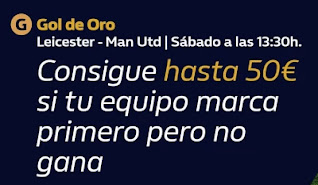 william hill Gol de Oro Leicester vs Man Utd 26-12-2020