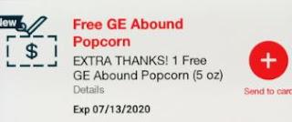 free popcorn at cvs