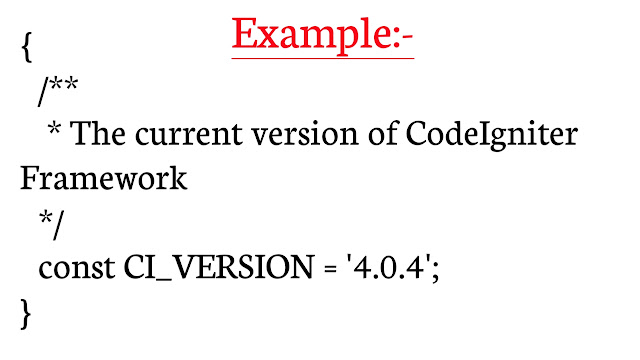 how to check codeigniter version