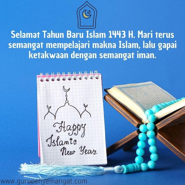 Kutipan Semangat Tahun Baru Islam 1443 H