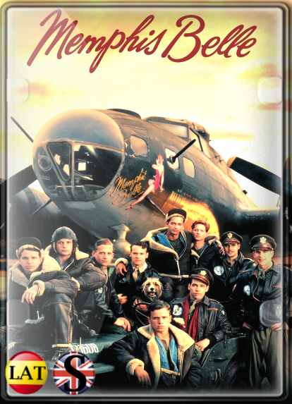 El Bombardero Memphis Belle (1990) FULL HD 1080P LATINO/INGLES