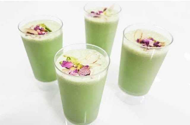 Summer Drinks | Indian Beverages - Pan shots Sharbat