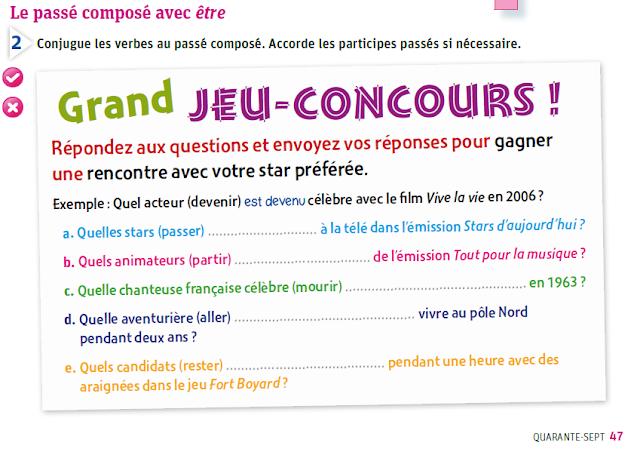 Passé composé - ćwiczenia z czasownikiem être - Francuski przy kawie