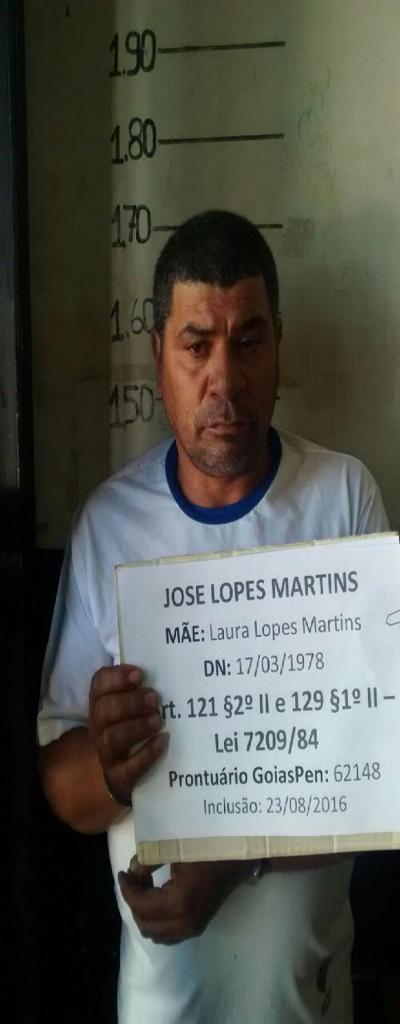 10 - Fuga em massa agora no Presídio de Cristalina. 19 presos. 61 9230-6834: LISTA DE FORAGIDOS