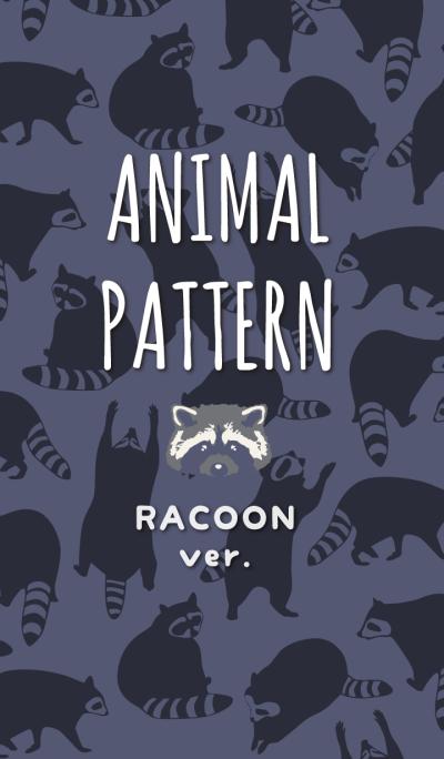 RACCOON ANIMAL PATTERN