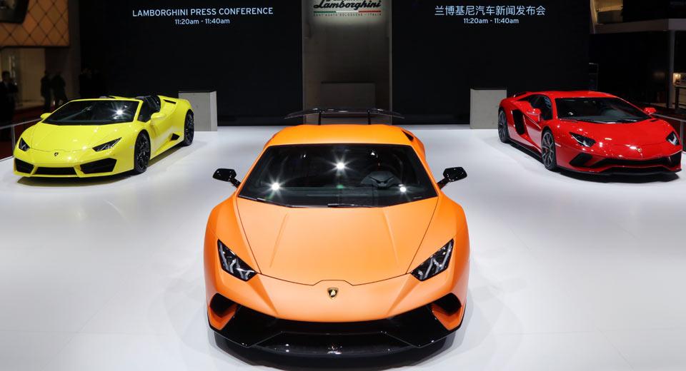 Lamborghini Huracan Performante & Aventador S Mark Their ...