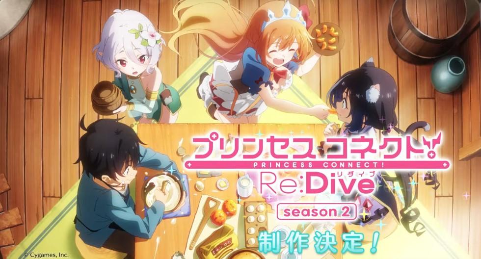 Season 2 Princess Connect Re:dive