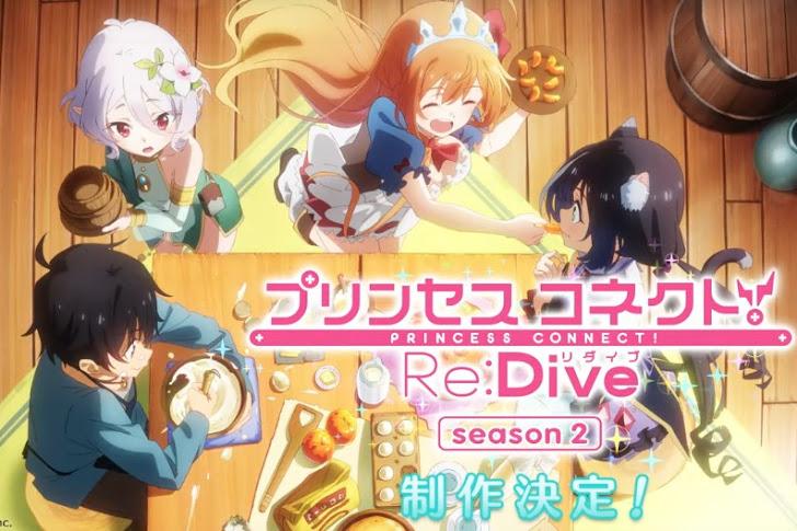 Musim Kedua Anime Princess Connect! Re:Dive Diumumkan