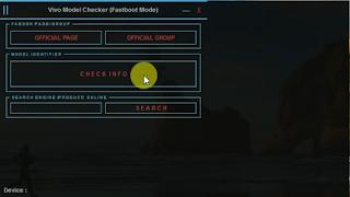 Vivo Model Checker V1.0 Fastboot Mode Free Download