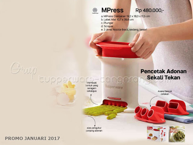 MPress Promo Tupperware Januari 2017