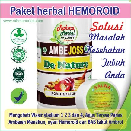 Paket Herbal Hemoroid / Ambeiyen