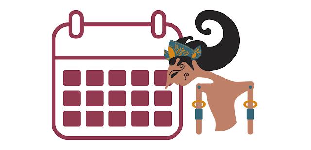 Istilah-Istilah Dalam Kalender Jawa Yang Belum Banyak Orang Tahu