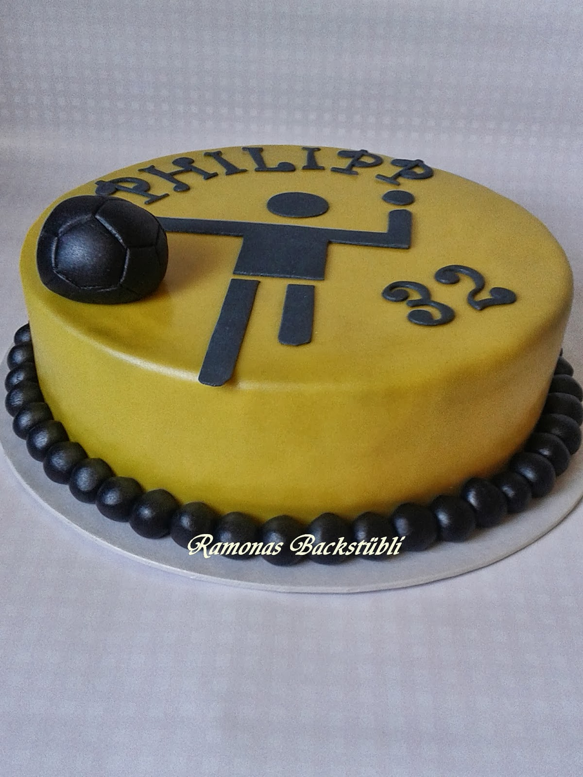 Ramonas Backstubli Handball Torte