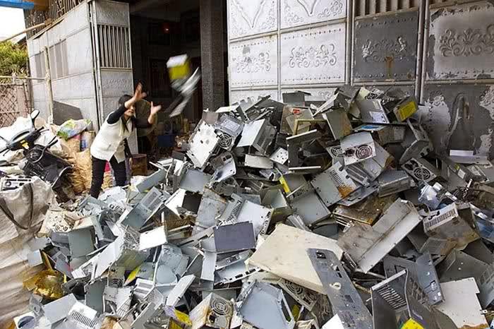 'Çöpteki bilgisayar' hayatları karartmasın