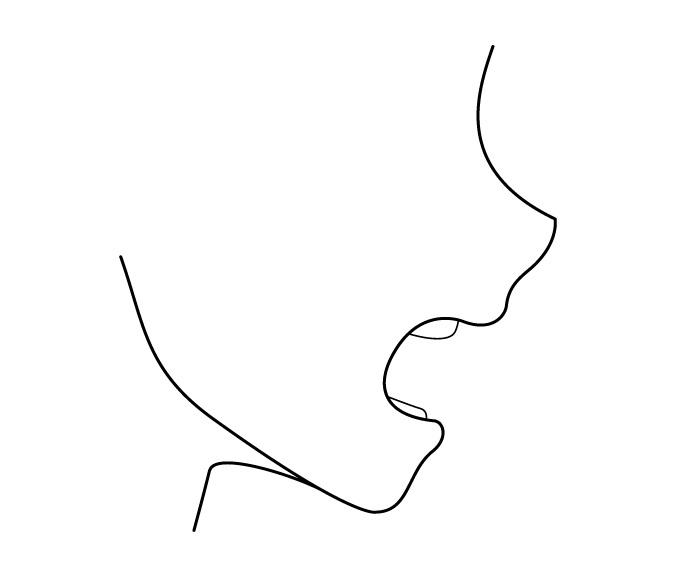 Berteriak pandangan mulut anime