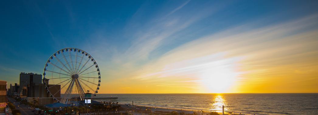A Orla De Myrtle Beach Na Carolina Do Sul Fotos Discover Usa Divulgação