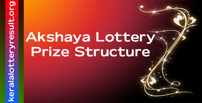 Prize Structure of Akshaya Weekly Lottery 2021