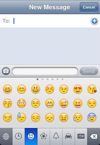 Enable Emoji On iPhone iPad