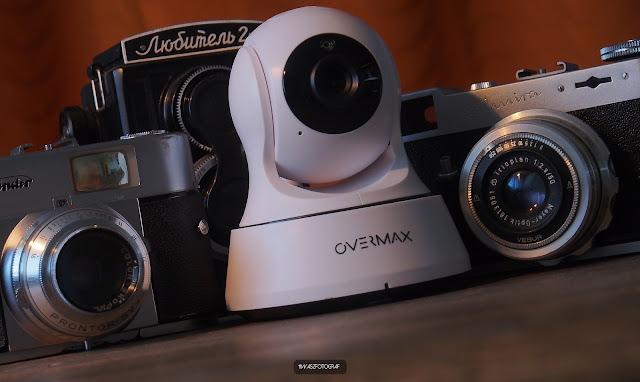 Fotografie zabezpiecz swój sprzęt! - Kamera Overmax 3.3
