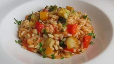 Rižoto od Tikvica, Paprika... (Dalmatinski) | Vegetable Risotto Recipe