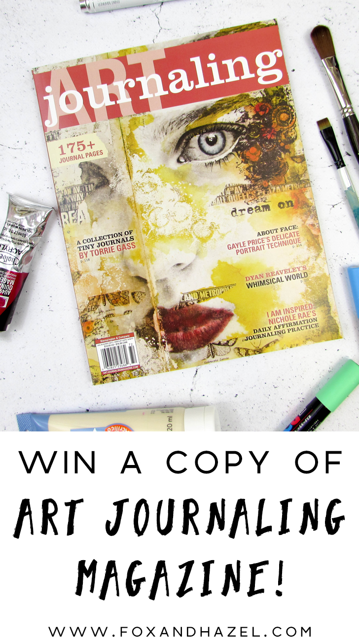 win a copy of Art Journaling magazine