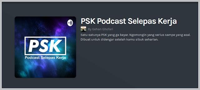 podcast selepas kerja