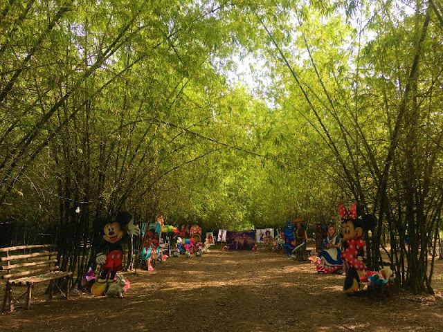 Bamboo Forest Disney-themed Park