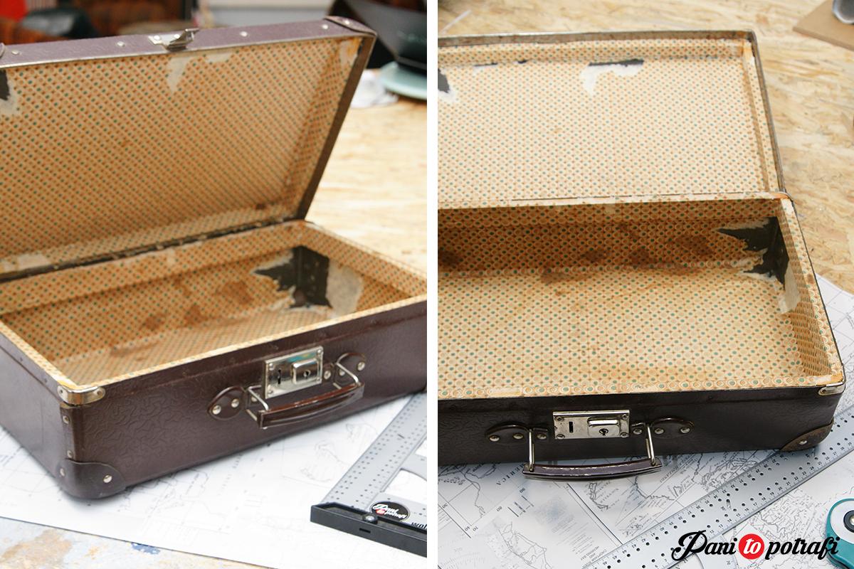 renowacja stara walizka