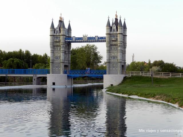Puente de Londres, Parque Europa, Torrejón de Ardoz (Madrid)