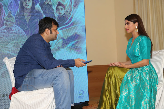 Interviewing Khamoshiyaan actress Sapna Pabbi