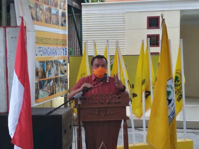 Lamhot Sinaga Sosialisasikan Empat Pilar Kebangsaan di Taput