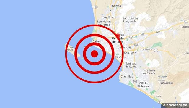 Temblor 4.0 de magnitud sacudió Lima