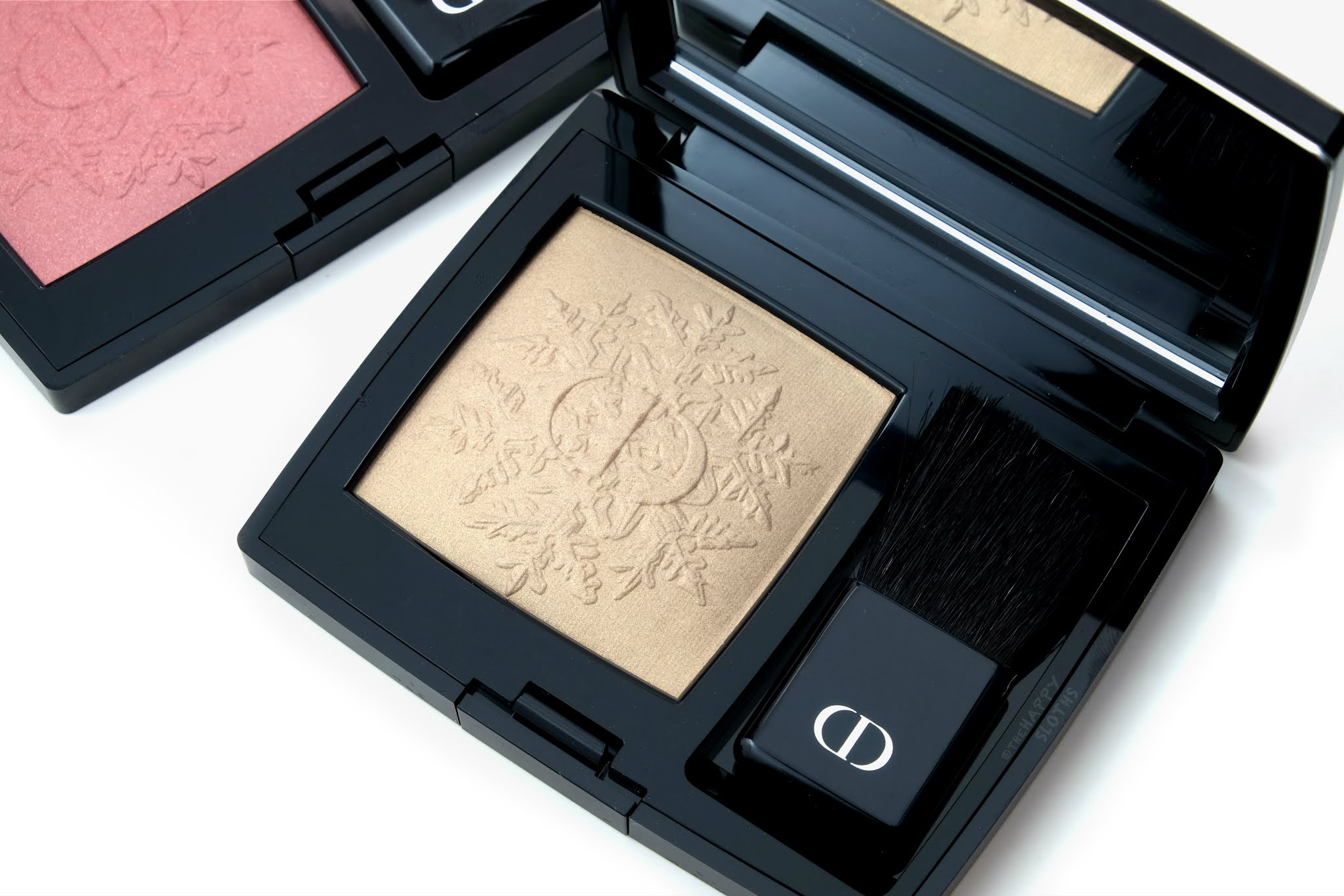 "Dior Holiday 2020 | Rouge Blush Golden Nights Powder Blush in ""310 Golden Frisson"": Review and Swatches"